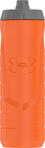 Under Armour Sideline 32 Ounce Squeezable Bottle, Orange