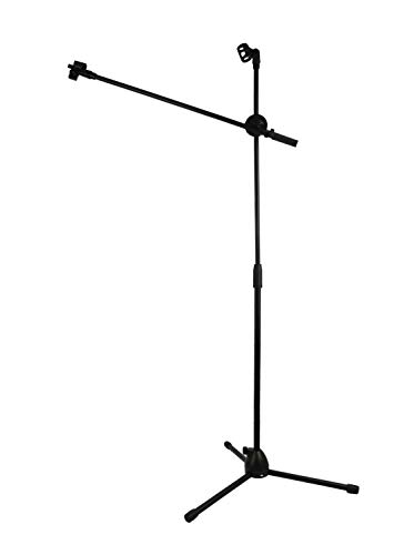 Dreokee Microphone Stand, Tripod Boom Mic Stand