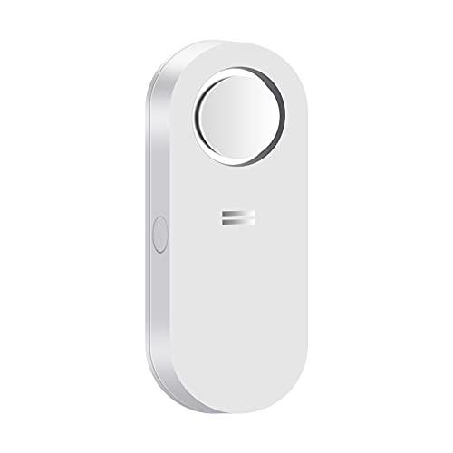 AGSHOME Alarma de agua de 120 dB, alarma para fugas sensibles y gotas, alarma de batería baja, para zonas vulnerables como la cocina, el baño y el sótano (incluye batería)