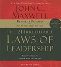 AUDIO CD - The 21 Irrefutable Laws of Leadership: Follow Them and People Will Follow You (Revised)