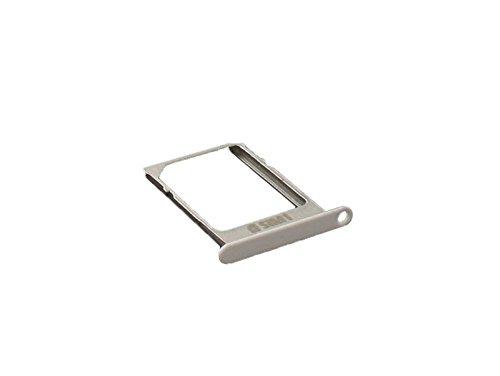 Samsung SM-A500F, SM-A500FU Galaxy A5 Sim Halter Schlitten Kartenhalter, Card Holder Tray, Weiss, white