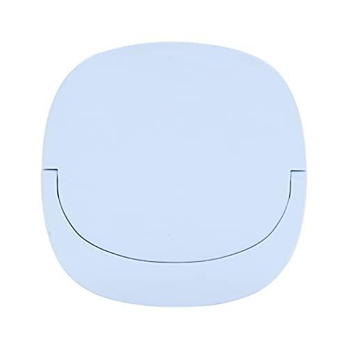 Luces de espejo de vanidad LED LED maquillaje espejo multifunción portátil llenado luz hd tocable plegable al aire libre para maquillaje (Color : Blue)