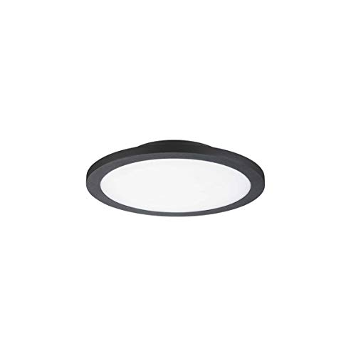 Girard Sudron Plafonnier LED Détecteur de présence 14W - noir