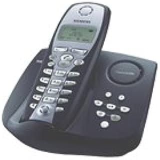 Siemens Gigaset C250 - Teléfono inalámbrico, color azul: Amazon.es: Electrónica