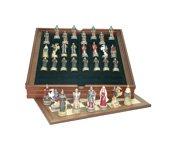 Le jeu d'échecs Napoléon contre Wellington