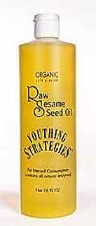 Raw Sesame Seed Oil