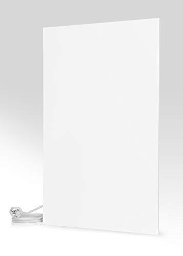 Magma® Infrarotheizung Metallic - Deutscher Hersteller seit 1992 - Magmaheizung mit 10 Jahren Garantie (1200 Watt / 980 x 620, Weiß)