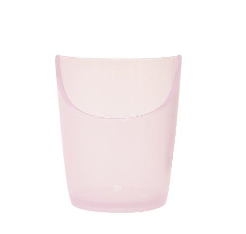 岡部洋食器 ぷにゅっとぴったんコップ ピンク PC-12