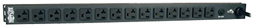 Tripp Lite Basic PDU, 20A, 14 Outlets (5-15/20R), 120V, L5-20P Input, 15 ft. Cord, 0U Vertical Rack-Mount Power, 24 in. (PDU1420T)