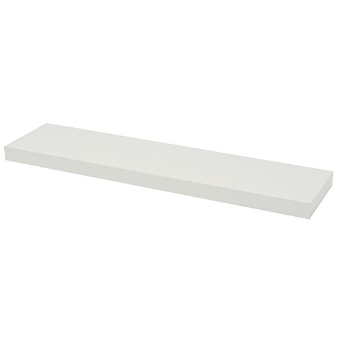 DURAline Schwimmende Wandregal, weiß, 38x 80x 20cm