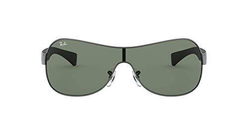 Ray-Ban Rayban Sonnenbrille RB347100471-32 Groß Sonnenbrille 132, Schwarz