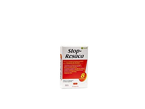 Stop Resaca – 15 Cápsulas | Relafit - Laboratorios MS | Vitamina B12 | Contribuye a la reducción de los efectos secundarios provocados por el consumo de alcohol.