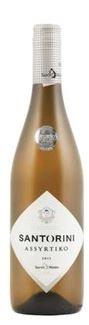 Assyrtiko Weiß trocken (750ml/13,5%) Santo Santorini Weißwein trockener Weiß Wein + Probiersachet Olivenöl 10 ml aus Kreta Griechenland