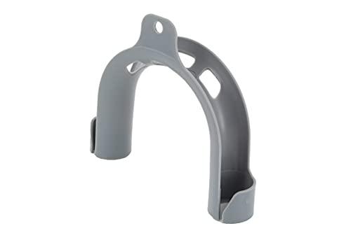 DL-pro Universal PVC Haltebogen für Ablaufschlauch Waschmaschine Spülmaschine