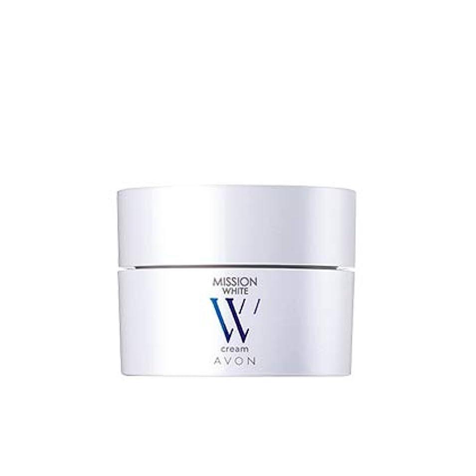 ホバー調整世界の窓エイボン ミッション ホワイト クリーム (医薬部外品) 04655 30g