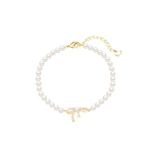 HehiFRlark Pulseras Plateadas Forever Love Knot Infinity para Mujer Pulsera de Oro para Mujer Diseño de Cadena Infinita