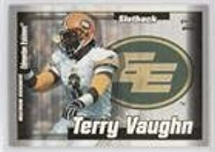 Terry Vaughn (Football Card) 2003 Pacific CFL - Maximum Overdrive #2