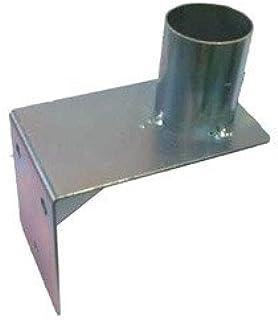 WBCM-60 Wandmontagebase voor convexspiegel met bevestigingsbeugel voor 60mm stangen