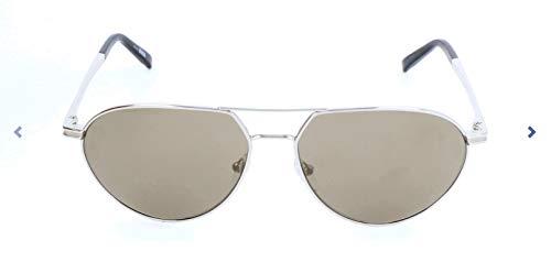 Montblanc Mont Blanc Sonnenbrille Mb714S Gafas de sol, Gris (Gr), 59.0 para Hombre