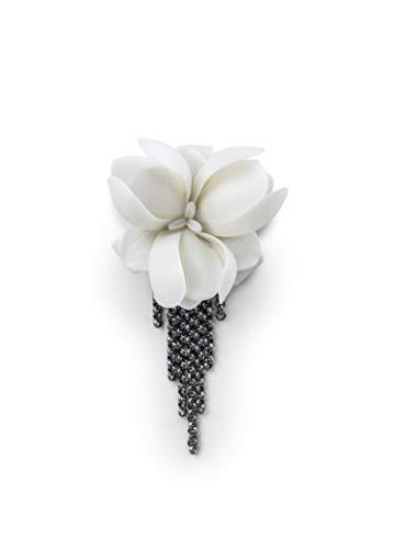 LLADRÓ Broche Orquídea. Broche de Porcelana.