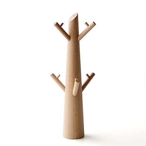 アクセサリースタンド ツリー おしゃれ かわいい 木製 ウッド ビーチ ネックレス イヤリング 指輪 アクセサリーツリー ビーチ