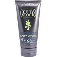 Aubrey Organics Northwoods Mens Shave Cream 118ml by Aubrey Organics (English Manual)