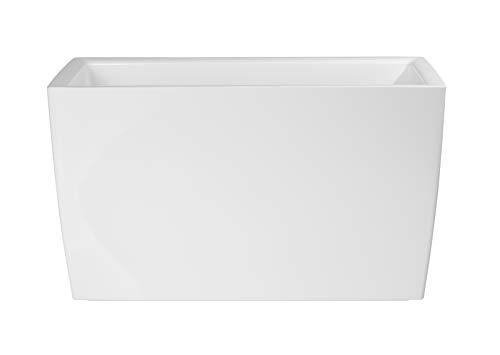 Artevasi Cassetta Marbella Jardinera, Blanco, 30.5x76x45 cm