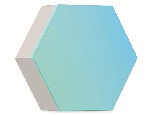 Cololight PRO modulares Lichtsystem-Steuerung per App (Android und Apple), Alexa, Google Home, 16 Mio RGB LED Farben und Effekte, Gamingbeleuchtung zum Zusammenstecken, 1x Erweiterung, weiß