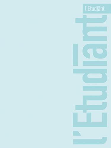 LÉTUDIANT PASTEL Agenda Scolaire Aout 2021 ‐ Août 2022 Semainier Format 10x15cm Couverture PVC Bleu Clair
