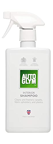 Autoglym Interior Shampoo (Shampoing Intérieur) - Détachant, Élimine la Saleté et les Impuretés des Tissus et des Plastiques - 500ml