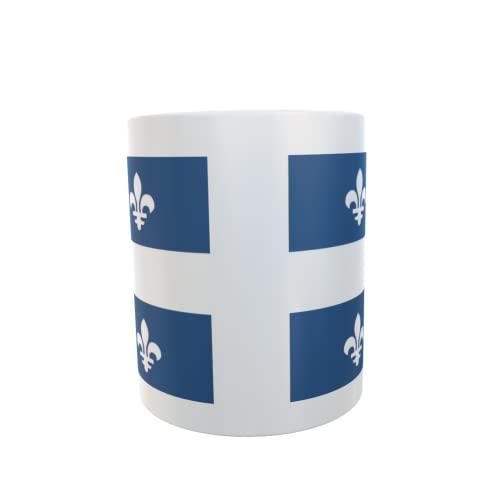 U24 Tasse Kaffeebecher Mug Cup Flagge Quebec