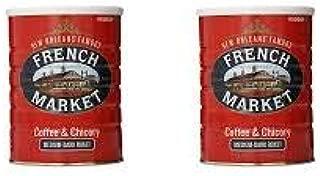 PACK OF 8 - French Market Medium-Dark Roast Ground Chicory & Coffee, 12 oz