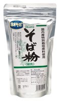 そば粉(細挽) 300g