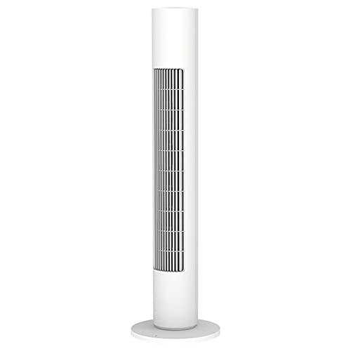 Liumintoy Ventilador de Torre de 45 W, oscilante, con 6 Niveles de Velocidad, Elegante Ventilador de Columna, Ventilador de pie silencioso y frío con Control Remoto