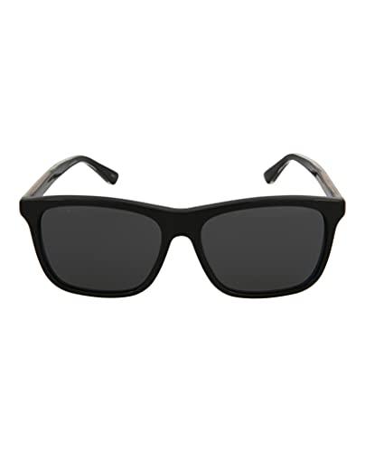 Gucci GG 0381 SA- 001 - Gafas de sol, color negro y gris