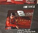 The U.S. Playing Card Co. Dale Earnhardt Junior Jr #8 Budweiser Bud Playing Cards in a Collectible Tin with 2 Decks of Sealed Cards