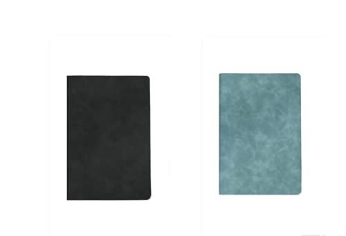 FACHAI 2 cuadernos diarios, cuaderno de negocios para notas para crear diarios, 14 x 20,6 cm