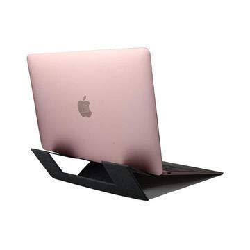 Broonel Schwarz Leichter Laptop Ständer - Kompatibel mit dem Asus X200CA 11.6-Inch Touchscreen Ultrabook