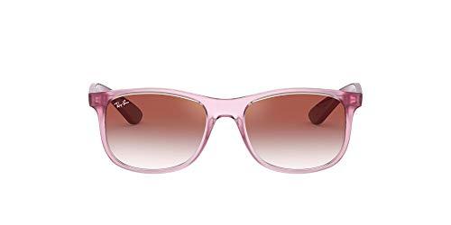 Ray-Ban JUNIOR 0RJ9062S Gafas de sol, Transparente Pink, 48 Unisex