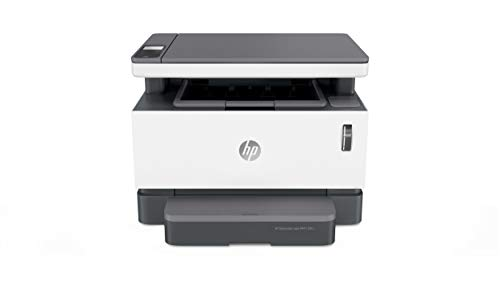 HP Neverstop Laser MFP 1201n multifunctionele printer (20 ppm A4, WiFi, kopiëren, scannen, USB) wit
