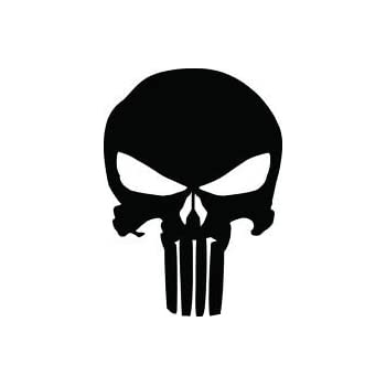 Godyluck Punisher Skull Blood Vinyl Auto Aufkleber Aufkleber Motorr/äder Dekoration