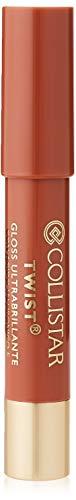 Collistar Twist Gloss Ultrabrillante n. 202 Nudo | Gloss labbra idratante rimpolpante e luminoso | Non occorre temperare | Con Acido Ialuronico e Pro-Collagene | 2,5 g