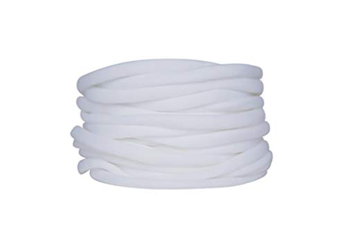 NylonBands Nylon Headbands for baby girl - white pack of 20 super soft stretchy one size fits all elastic bands for infant babies girl Toddler Adult-DIY craft hair bow