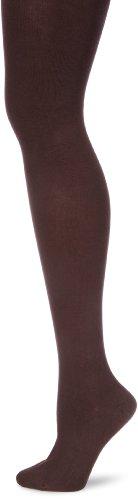 Hudson Damen Montana Strickstrumpfhose, Blickdicht, Braun (Schwarzbraun 0778), 44/46