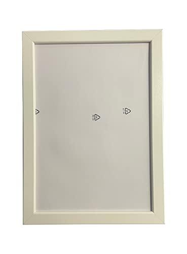 Ikea - FISKBO - Juego de 4 marcos de fotos, 21 x 30 cm, color blanco, tamaño A4