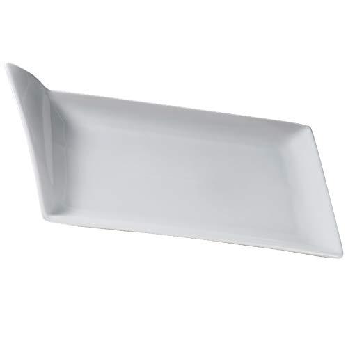 Sibo Homeconcept - Flag Assiette 33 x 22 cm (Lot de 6)