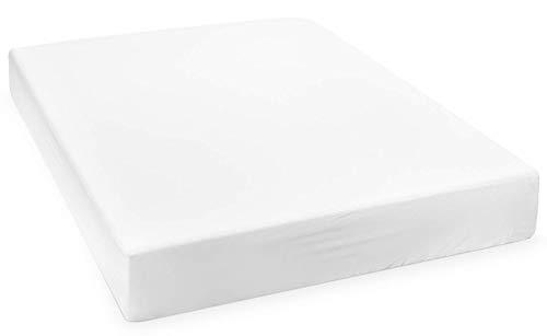 Mettime - Protector de colchón impermeable, transpirable, 100% tencel, lavable 100 x 200 cm