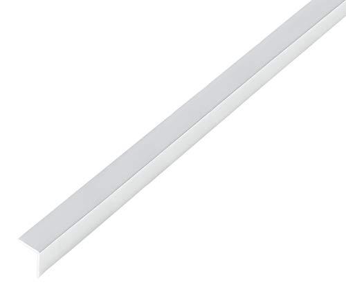 GAH-Alberts 488567 Winkelprofil | selbstklebend | Aluminium, chromdesign | 1000 x 30 x 30 mm