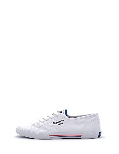 Pepe Jeans ABERLADY ECOBASS, Zapatillas Mujer, 800 Blanco, 40 EU