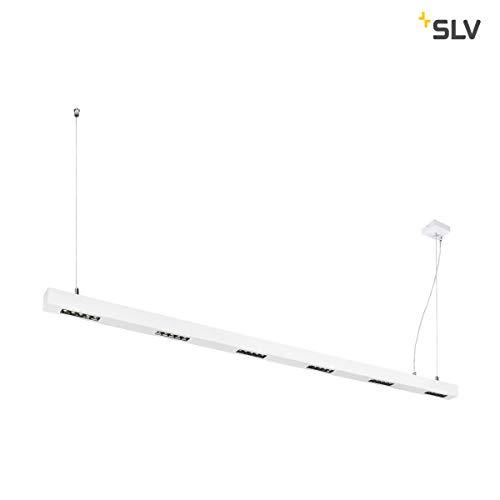 SLV Q-LINE PD, LED Indoor Pendelleuchte, 2m, BAP, weiß, 4000K Leuchte Aluminium 85 W